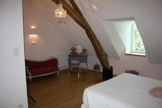 Le Clos des Tilleuls : Chambre le boudoir