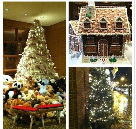 Four Seasons Hotel Boston : The magic of Christmas at the Four Seasons in Boston