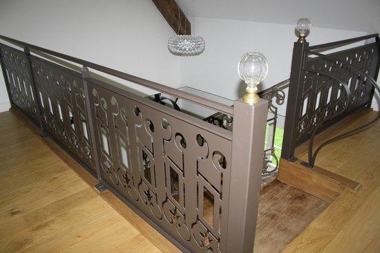 Le Clos des Tilleuls : Escalier