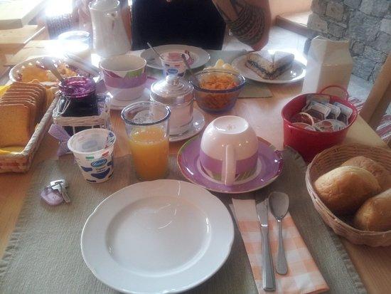 Al Castagneto: Colazione