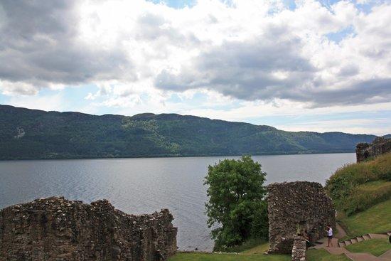 Beautiful Loch Ness from Urquhart Castle