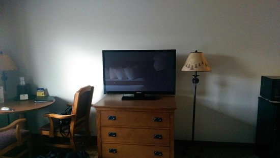 Best Western By Mammoth Hot Springs : TV