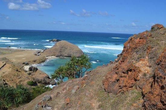 Novotel Lombok : Climbing a nearby hill