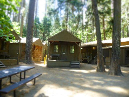Half Dome Village : cabine