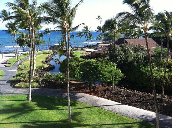 Mauna Lani Bay Hotel & Bungalows : View from Room Balcony