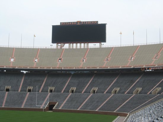 University of Tennessee : Football field and seating