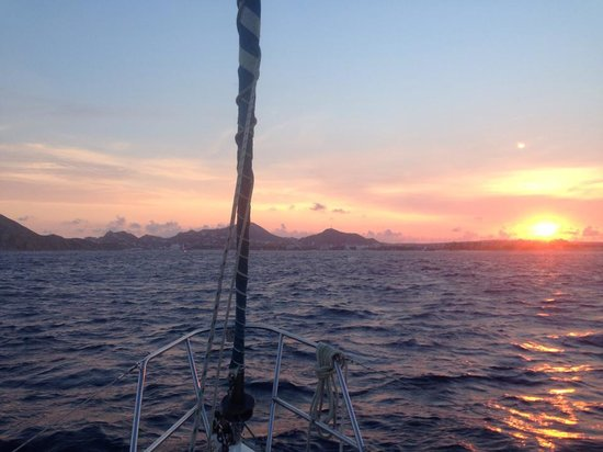 Cabo Sailing Ocean Adventures: Sunset on Cabo San Lucas