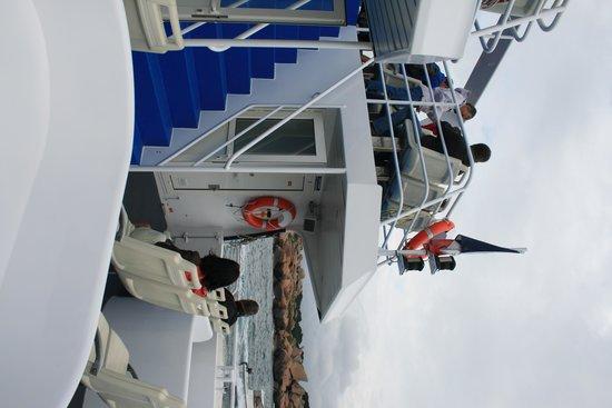 Armor Navigation : sull'imbarcazione
