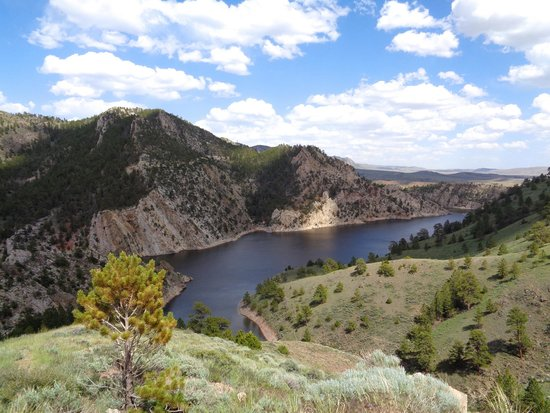 Sinclair, WY: View of the reservoir