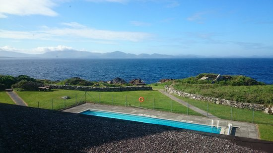 Derrynane Hotel : View from bedroom