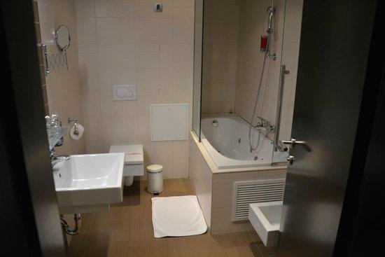 Birokrat Hotel : Notre salle de bain