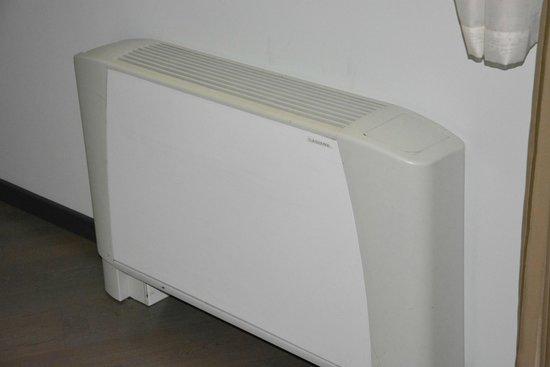 Birokrat Hotel: L'appareil totalement insuffisant de climatisation