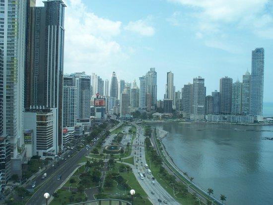 Intercontinental Miramar Panama: Panama City skyline from the balcony