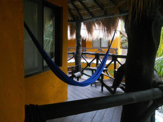 Holbox Dream Hotel by Xperience Hotels: Our balcony
