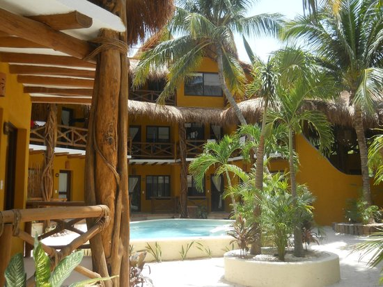 Holbox Dream Hotel by Xperience Hotels: Outside showers