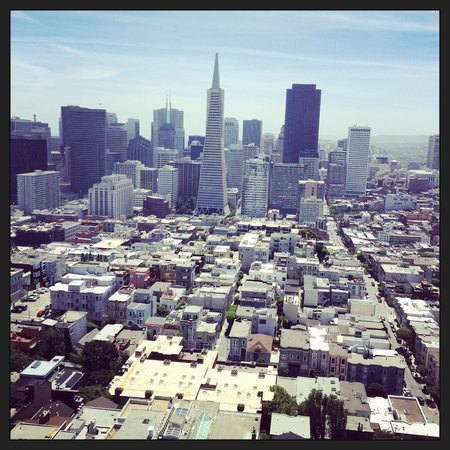 Coit Tower : View from the Tower