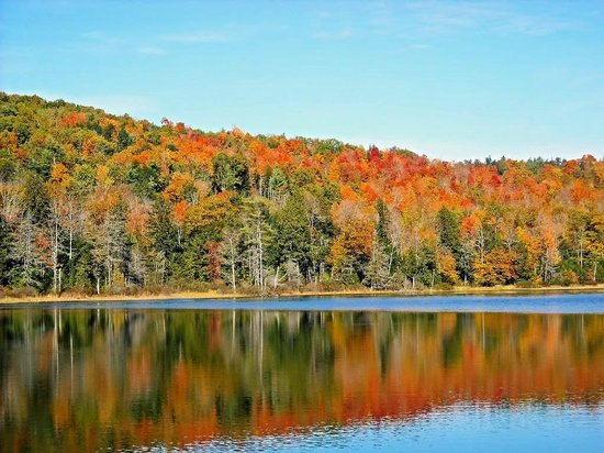 Six Chimneys & A Dream: Beautiful Newfound Lake in the fall. The lake is just down the road.