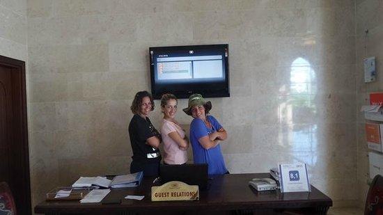 Crowne Plaza Hotel Antalya: smiles with Aliye nice guest relation staff