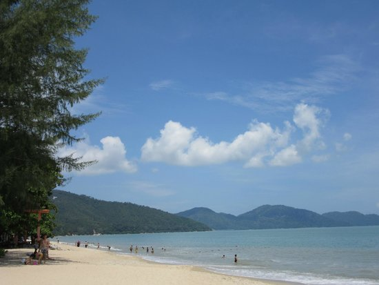 PARKROYAL Penang Resort, Malaysia : Smoking area view