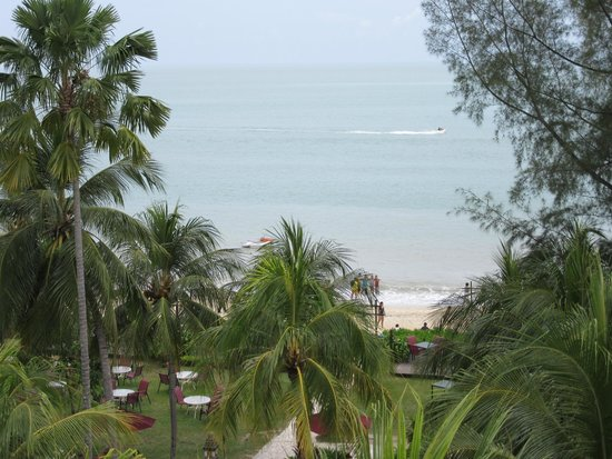 PARKROYAL Penang Resort, Malaysia: View from smoking area