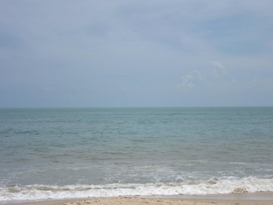 PARKROYAL Penang Resort, Malaysia: View from smoking area