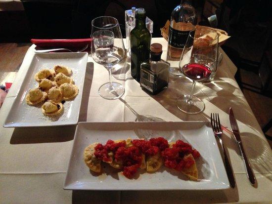 E Lucevan le Stelle: Great pasta