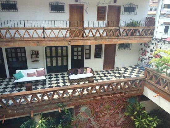 Catedral Vallarta Boutique Hotel : Frente de habitaciones