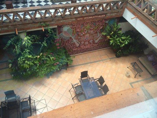 Catedral Vallarta Boutique Hotel : Patio Central