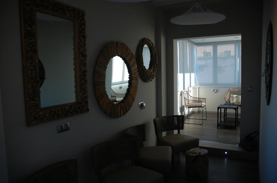 Salamanca Suite Studios: miejsce do rekreacji na dachu hotelu