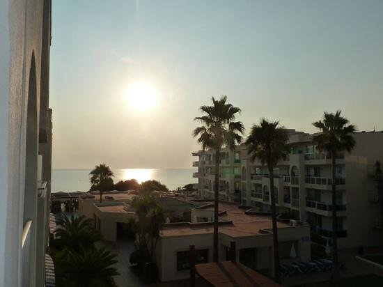TUI Family Life Alcudia Pins: Not a bad 'dawn' view from our room balcony!