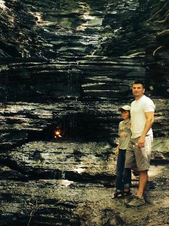 Chestnut Ridge Park : Bottom of Gas Light Falls