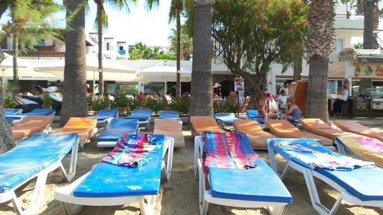 Sami Beach Hotel : plaj