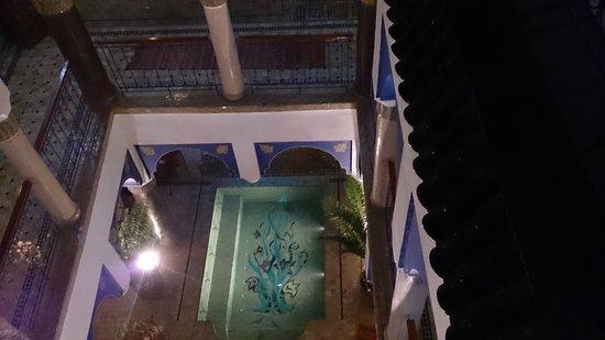 Riad Kenzo : Vista interior desde la terraza
