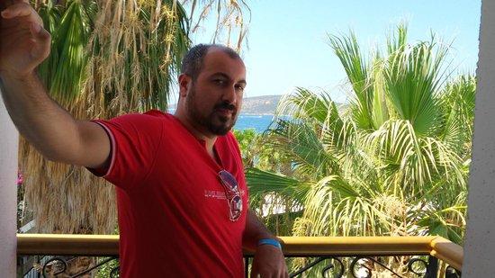 Sami Beach Hotel : oda manzara