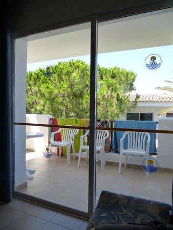 Inturotel Esmeralda Park: Goede airco, grote schuifpui, ruim balkon