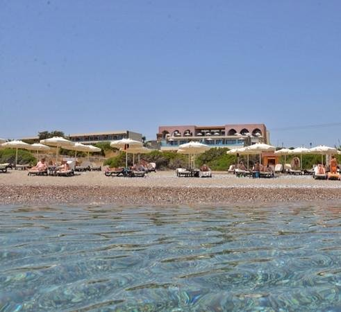 Boutique 5 Hotel & Spa: view from the beach