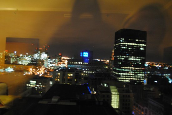 InterContinental Montreal: view from the room
