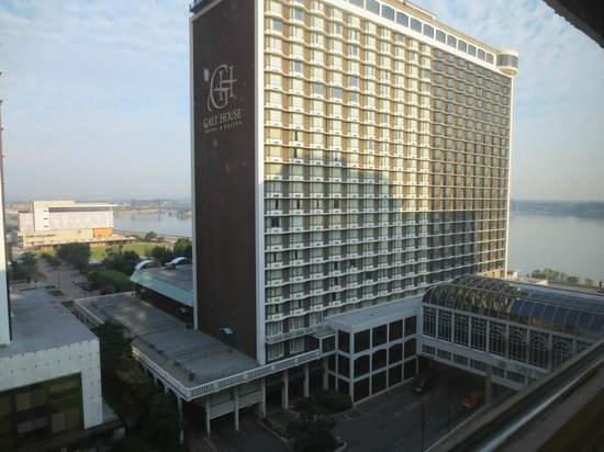 Galt House Hotel: View from suite