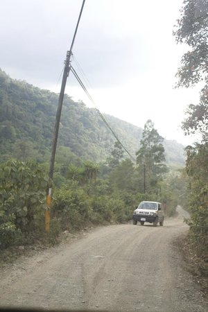 Casa Mariposa Hostel & Guesthouse: The route to San Gerardo