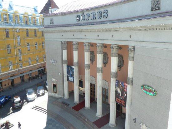 My City Hotel Tallinn: vista desde la habitación
