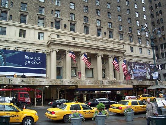 Hotel Pennsylvania New York : Frente do hotel