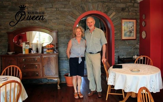Keldun House: owners Pat and Bernadette what a fantastic couple so pleasant and helpful