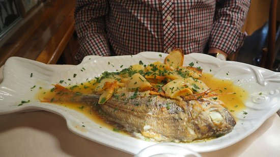 CHEZ BLACK: Baked fish