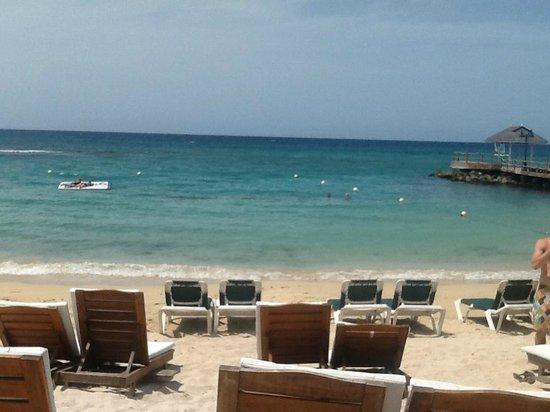 Sandals Ochi Beach Resort: Our Beach