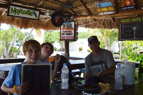 Blue Gecko Cantina: Lunch time
