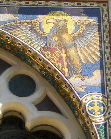 San Pedro Encadenado (San Pietro in Vincoli): L'aigle de St matthieu