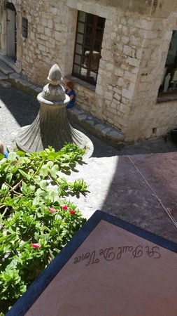 Hostellerie La Fontaine : Dalla terrazza.