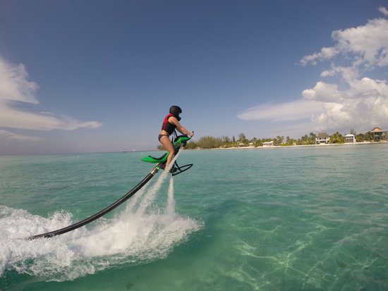 White Sand Water Sports: Jetpacking