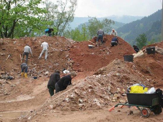 Wolfach, Allemagne : Öffnung der großen Halden