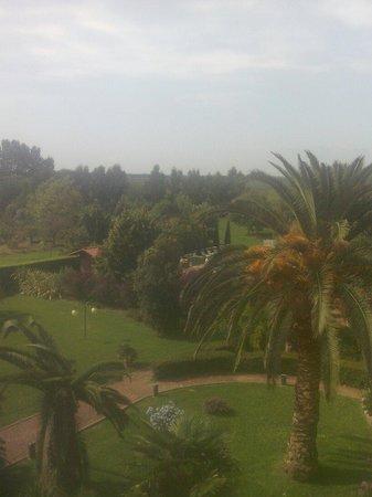 Hotel Ristorante Le Rotonde : Il bellissimo giardino con la piscina.